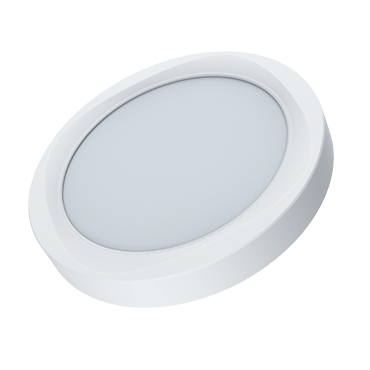 LED Panel Light – Round Surface